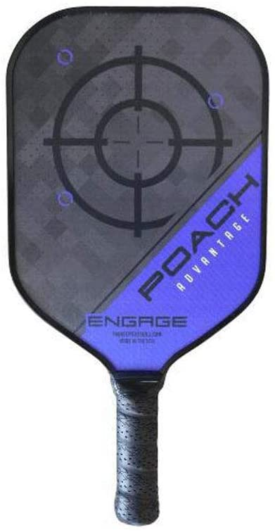 Best Pickleball Paddle: This in an image of the ENGAGEPICKLEBALL Poach Advantage Paddle.