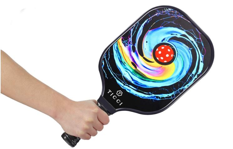 Best Pickleball Paddle: This in an image of the TICCI Pickleball Paddle Set.