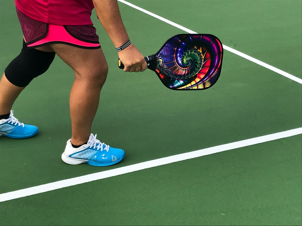 This is an image of a pickleball paddle.