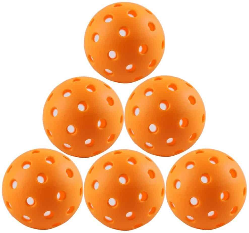 The Best Pickleball Balls for the Money-Buying Guide and Reviews: IUZIT Outdoor Pickleball Balls
