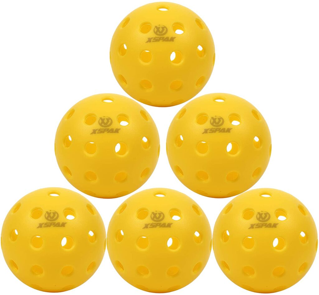 The Best Pickleball Balls for the Money-Buying Guide and Reviews: XS XS Pack Indoor or Outdoor Pickleball Balls