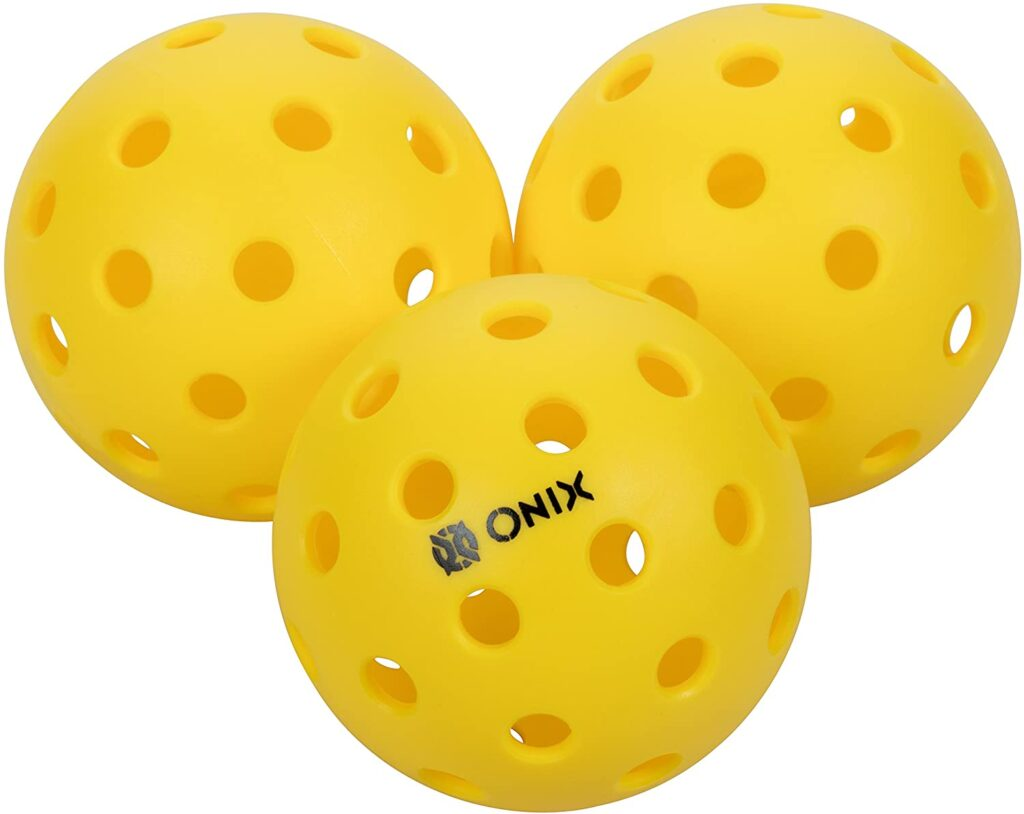 The Best Pickleball Balls for the Money-Buying Guide and Reviews: Onix Outdoor Pickleball Balls