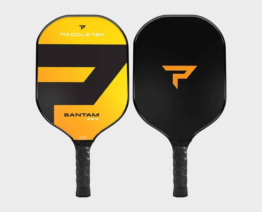 Top‌ ‌Pickleball‌ ‌Brands:‌ ‌A‌ ‌Full‌ ‌Review‌: PaddleTek Bantam EX-L Yellow Pickleball Paddle