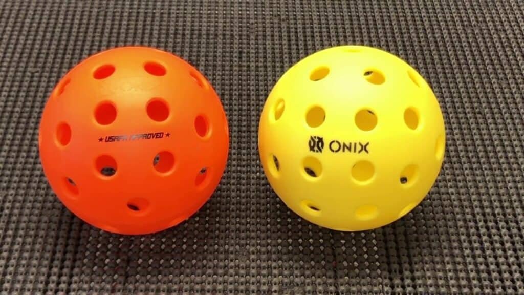 Indoor vs. Outdoor Pickleball - What's the Difference: Pickleball Balls