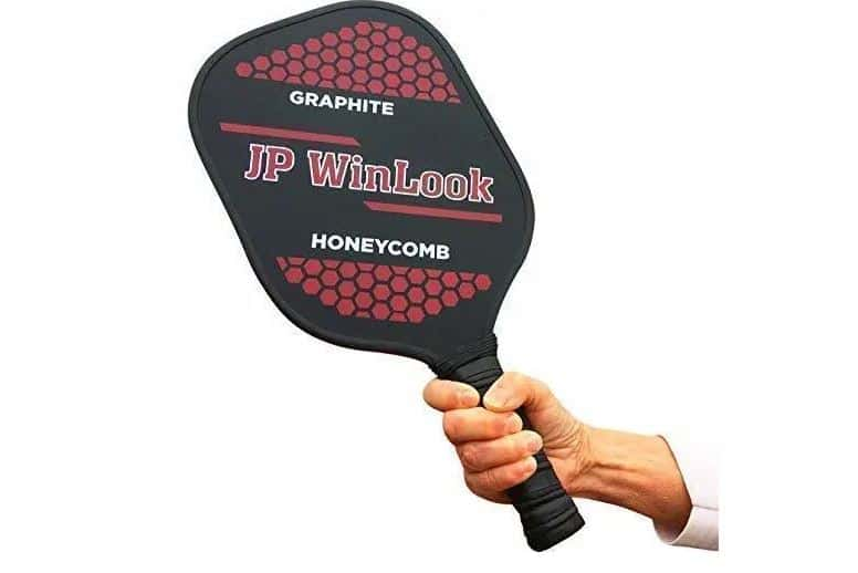 Top‌ ‌Pickleball‌ ‌Brands:‌ ‌A‌ ‌Full‌ ‌Review‌: JP WinLook Graphite Honeycomb Pickleball Paddle