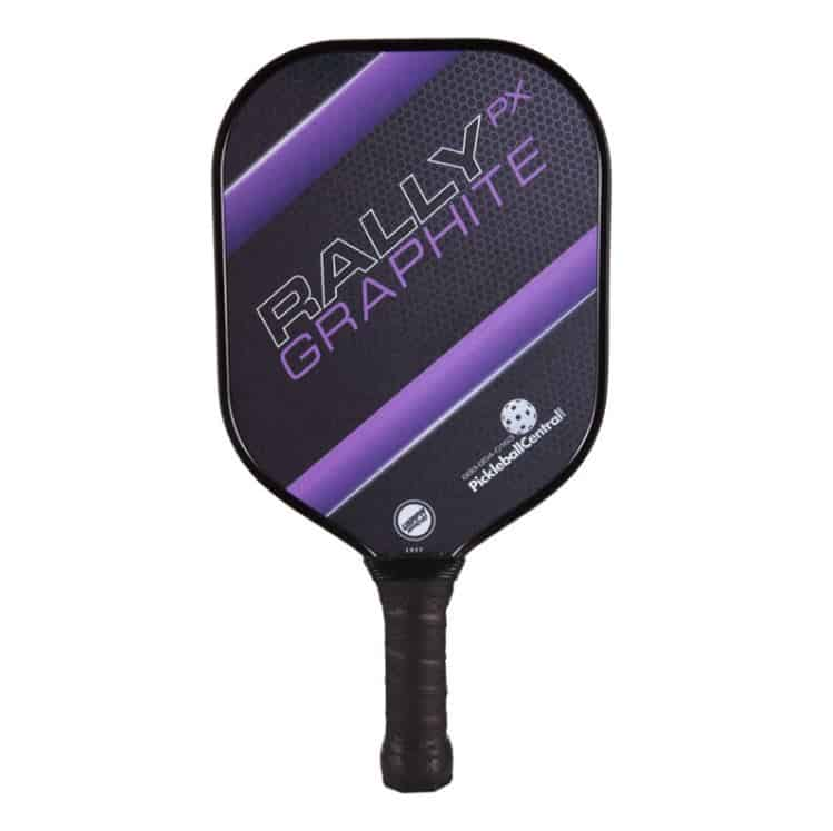 Top‌ ‌Pickleball‌ ‌Brands:‌ ‌A‌ ‌Full‌ ‌Review‌: PickleballCentral Purple Rally Graphite Pickleball Paddle
