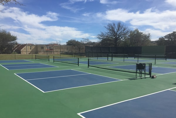 Indoor vs. Outdoor Pickleball - What's the Difference: Outdoor Pickleball Court