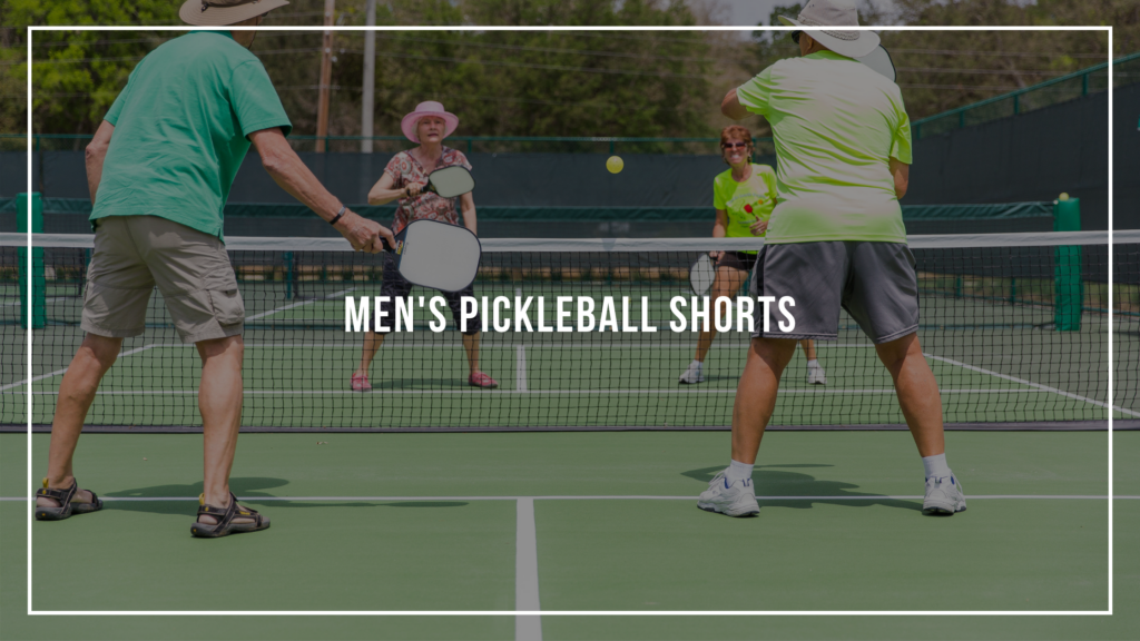 Men's Pickleball Shorts: Featured Image