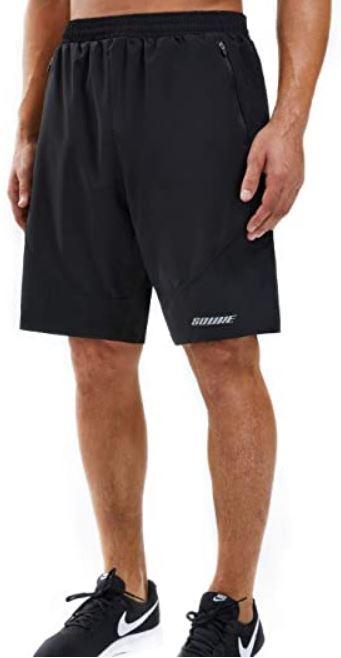 Men's Pickleball Shorts: Souke Sports Men's Workout Shorts