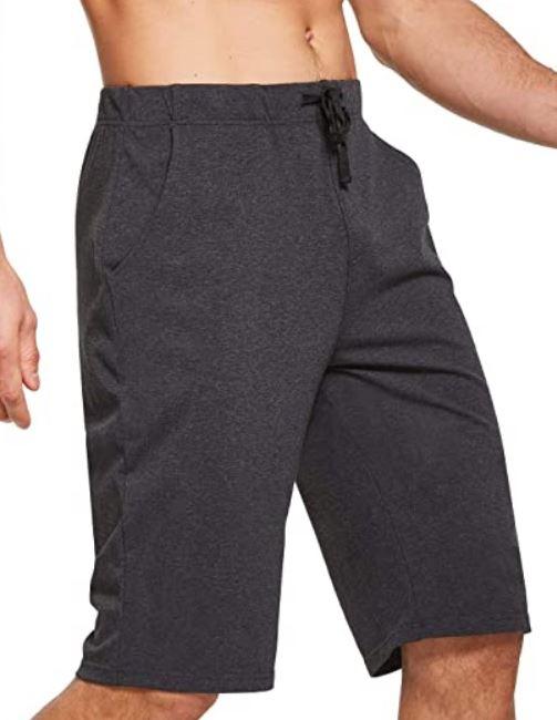 """Men's Pickleball Shorts: BALEAF Men's 12"""" Long Shorts"""