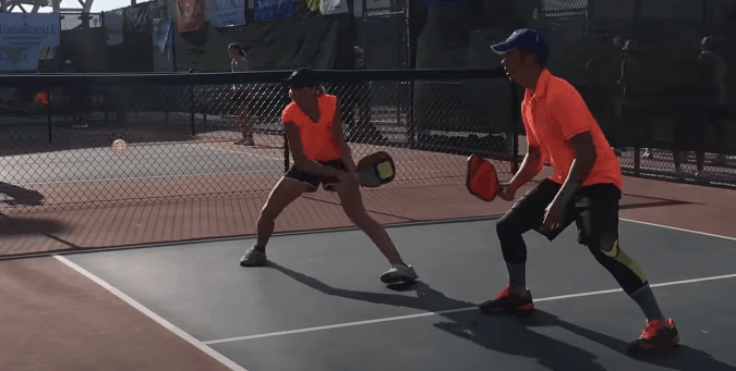The Backhand Punch: Most Aggressive Shot in Pickleball